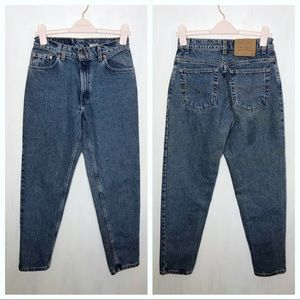 Vintage Levi's 550 Mom Jeans 9 Medium Wash